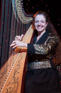 Leah O'Rourke Pedal Harp Adelaide Entertainment Centre