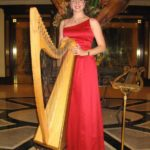 Leah O'Rourke - Celtic Harp - Valentines Day - Observatory Hotel - Sydney