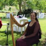 Celtic Harp Garden party